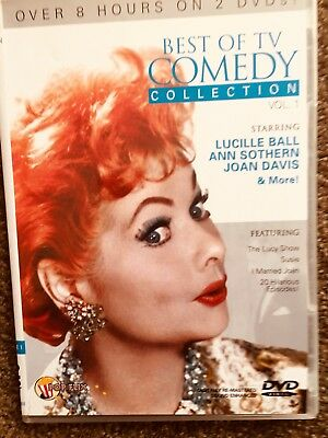 Best of TV Comedy Collection, Vol. 1 [2 Discs] Inc Lucille Ball.  DVD