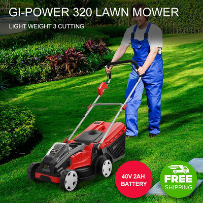 Giantz NEW Lawn Mower Cordless Lawnmower Lithium Battery Powered Electric