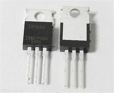 50PCS IRF840 TO-220  POWER MOSFET N-channel 8A 500V NEW GOOD QUALITY T2
