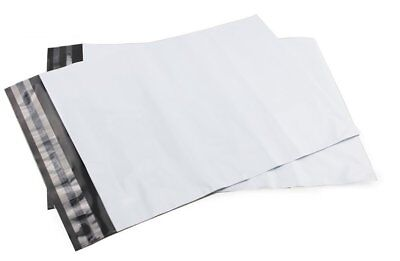 """10 x 14"""" inch White Medium Mailing Bags Extra Strong Seal Post Parcel Packing"""