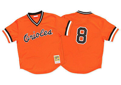 Mitchell & Ness Baltimore Orioles Cal Ripken 1988 Authentic Mesh Classic Jersey