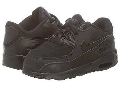 Nike Air Max 90 TD Boys Toddlers Black Infant Baby Shoes 408110-091