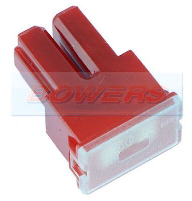 12V 24V 32V Volt 50A Amp Red Female Pal Slow Blow Fuse Japanese Car Jaso 0612