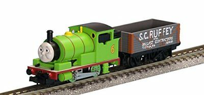 TOMIX N Gauge 93707 Thomas the Tank Engine Percy with S.C.Ruffey TOMYTEC