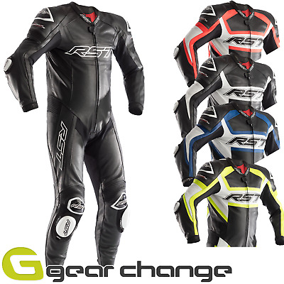 RST Tractech Evo R (CE) One Piece Leather Motorcycle Motorbike Race Suit