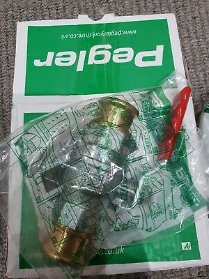 Pegler ball valve ps500 28mm Brass/ code 242304 for 5 pieces £ 80
