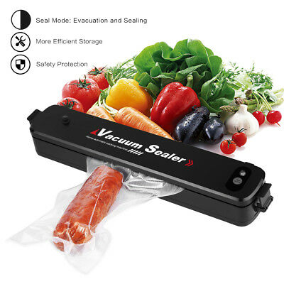 Portable Food Saver Storage Sealer Machine Vacuum Sealing Freezer Meat Cryovac