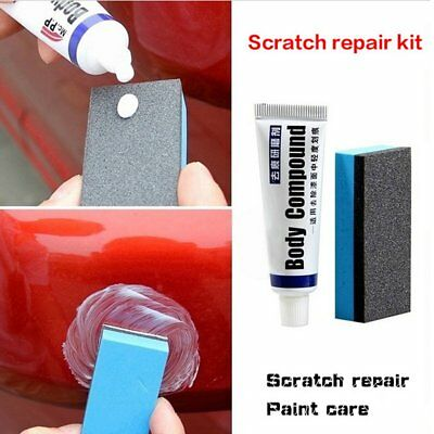31g Car Body Scratch Repair Wax Paint Scar Remover Paste With Sponge Brush Tool