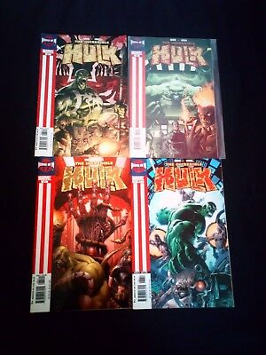The Incredible Hulk Comics x 4 House of M Bundle/Small Joblot (2005) #83-86 Run