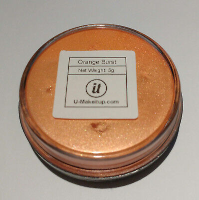 Mica Pulver Farbe Orange Burst