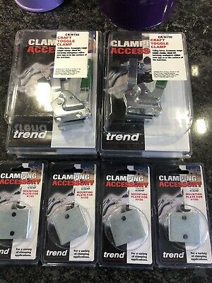 Trend Cr/h150 Toggle Clamp,Set Of Four