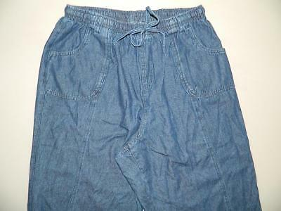 WP8280 Karen Scott Womens Plus Denim Comfort Waist Capri Pants NWOT Size 2X X 19