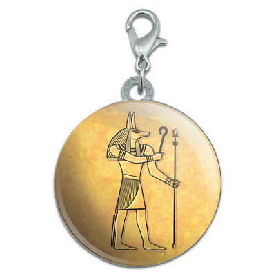 Anubis Ancient Egyptian God Stainless Steel Pet Dog ID Tag