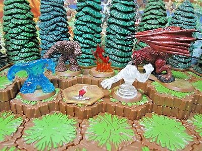 Heroscape Fury of the Primordials Wave 11/D1 Champions of the Forgotten Realms