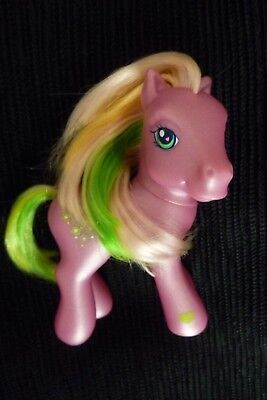 Girls toys My Little Pony 3-10 years mid-pink pony/peach,pink,yellow,green mane