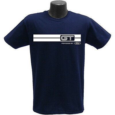 Rare Brand New Ford Gt Gt40 Size Choice Large Or Xl Navy Blue Shirt!