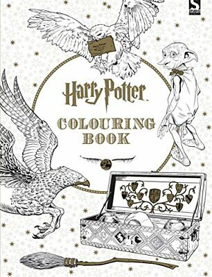 Harry Potter Colouring Book 1 by Warner Brothers New Paperback Book