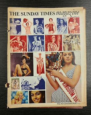 The Sunday Times Magazine: Miss World Edition, 29 October 1967