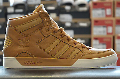 the latest cecfd 7b6d3 Adidas Hardcourt Scarpe Uomo da Ginnastica Alta Big pelle Marrone