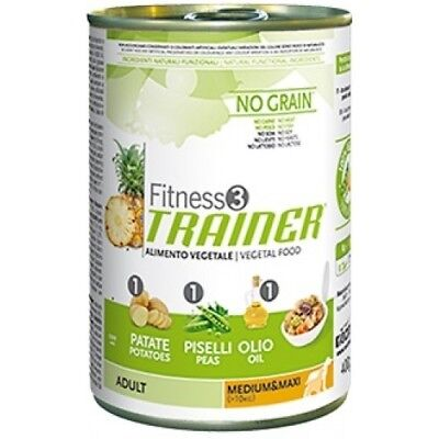 Trainer Fitness 3 - Adult Medium e Maxi Vegetal da 400 gr PER 12 PZ
