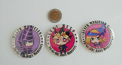 Yu-Gi-Oh! Yugi Muto Dark Magician Girl Black Magician Badges Buttons Can Badge