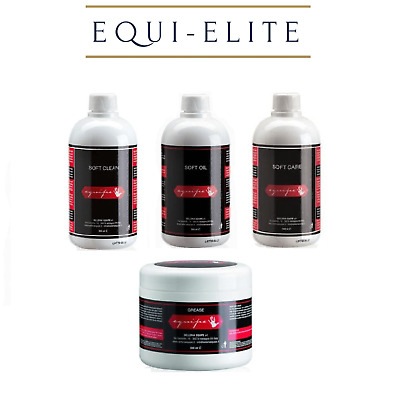 Equipe Bridle Saddle Leather Care Products - Clean Care Grease Oil