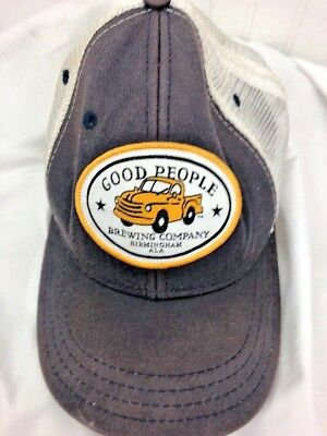 Good People Brewery Birmingham Alabama Trucker Hat Snapback Rare Free Shipping