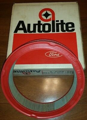 1967-69 NOS AUTOLITE FORD MUSTANG 6 Cyl Air Filter Element FA-51 C8ZZ-9601-A