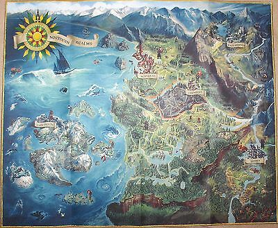 Original Map for The Witcher 3: Wild Hunt PC, PS4, XBOX One + 2x2 Stickers