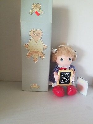 Vintage Precious Moments Doll 1987 I Love You Dolls of the month