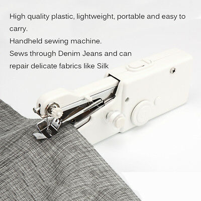New Portable Household Handy Quick Stitch Electric Mini Handheld Sewing Machine