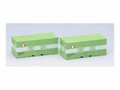 TOMIX N-scale 3125 Type UC7 10t 20 Containers 2 pcs w/Track No.