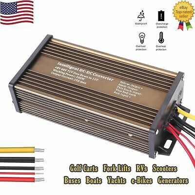 Isolated DC Converter Voltage Reducer 120v to 12volt 60A 720W Electronic car EV