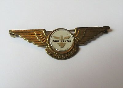 Jr Hostess Pin Continental Airlines