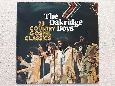 "Vinyl-12""-LP # Oakridge Boys # 20 Country Gospel Classics # 1984 # Astan # vg/vg"