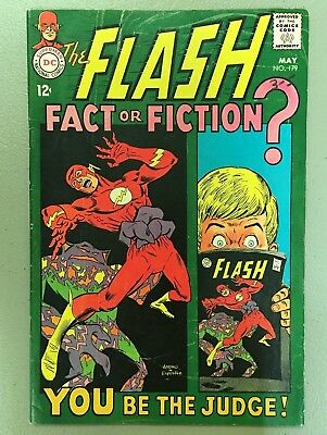 Flash # 179 VG+ 4.5 1968 Nice Collectible Copy! $3.95 unlimited Ship!!!