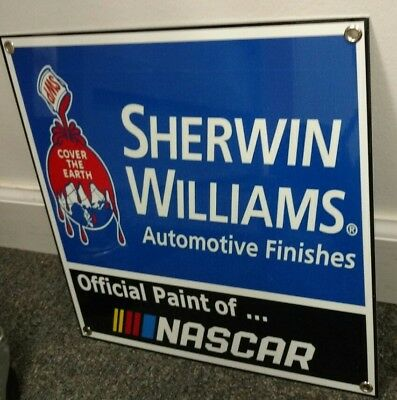 Sherwin Williams Automotive Paint sign