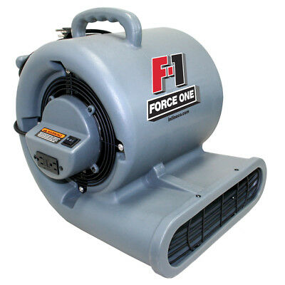 F-1 Force One Centrifugal Air Mover/Dryer W/GFCI (Low Amps Daisy Chain Capable)