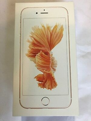 Apple iPhone 6s 32GB Rose Gold Box. Empty Box Only OEM Retail BOX