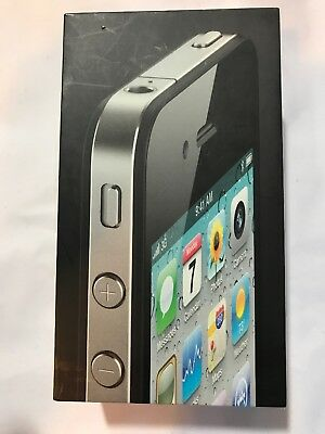 iPhone 4 black 16gb Empty Box Only No Phone or Accessories