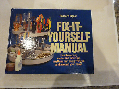 Readers digest repair books fix it yourself manual do it yourself readers digest fix it yourself manual home handyman repair hc book vintage nice solutioingenieria Image collections