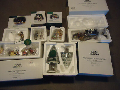 Department 56 new England & heritage village series figures 6pc box retired