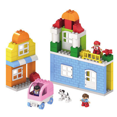 88Pcs City Building Blocks City DIY Creative Bricks Educational Toy Gift For