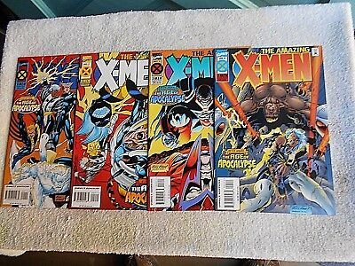 1995 The Amazing X-Men #s 1/2/3/4 SET (The Age of Apocalypse) NM+ 9.6