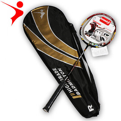 1PC High Quality Professional Whole Carbon Fiber Badminton Racket Light Weight