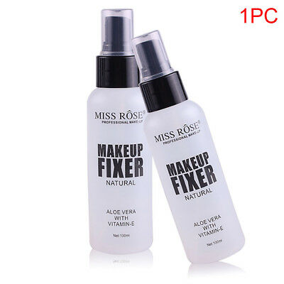 Natural Beauty Makeup Setting Spray Bottle Matte Dewy Finish Fixer Long Lasting