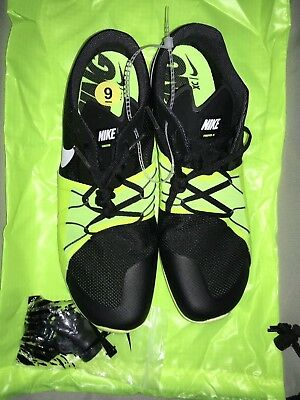 the best attitude 0878f fdef6 Men s Nike Zoom Forever XC 5 Track Spikes Sz 9 Black Volt-Victory XC