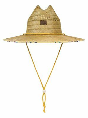 Roxy™ Tomboy Printed Straw Lifeguard Hat ERJHA03448