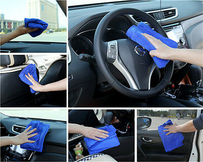 Hot Big Size Microfibre Car Cleaning Cloth Kitchen Washing Absorbent Towel Lots