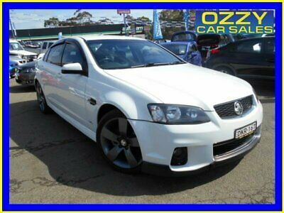 2012 Holden Commodore VE II MY12.5 SV6 Z-Series White Manual 6sp M Sedan